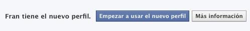 Nuevos perfiles en facebook