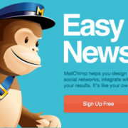 mailchimp aplicación online de email marketing