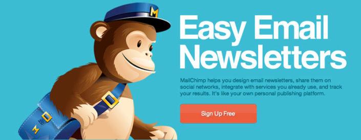 mailchimp aplicación online de email marketing
